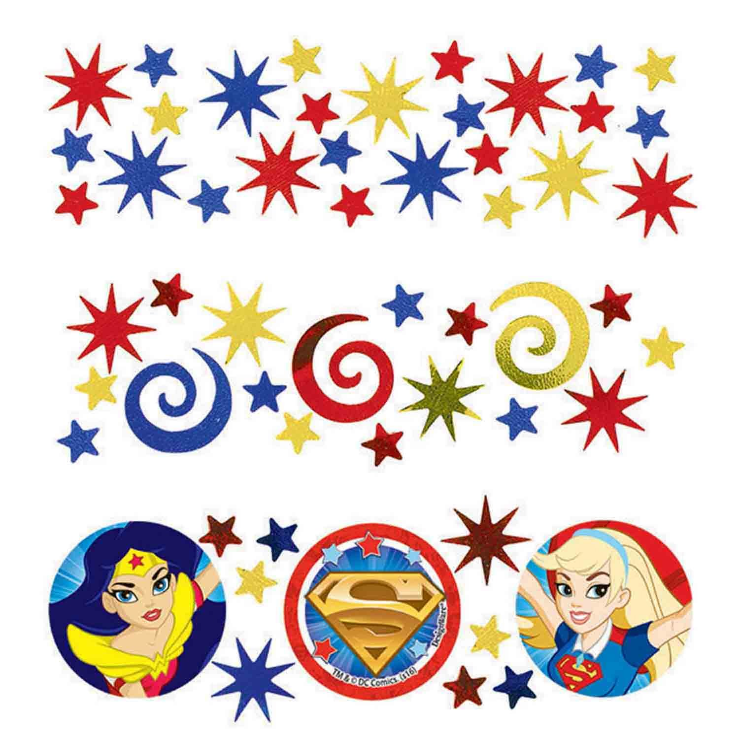 DC Superhero Girls Confetti34g