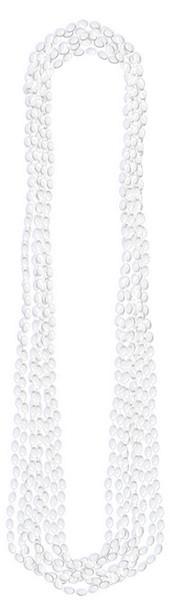 Metallic Necklace - White