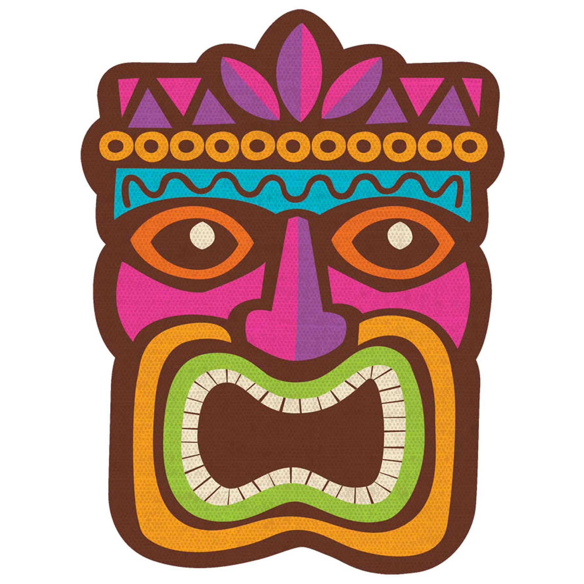 Summer Luau Tiki Cardboard Cutout