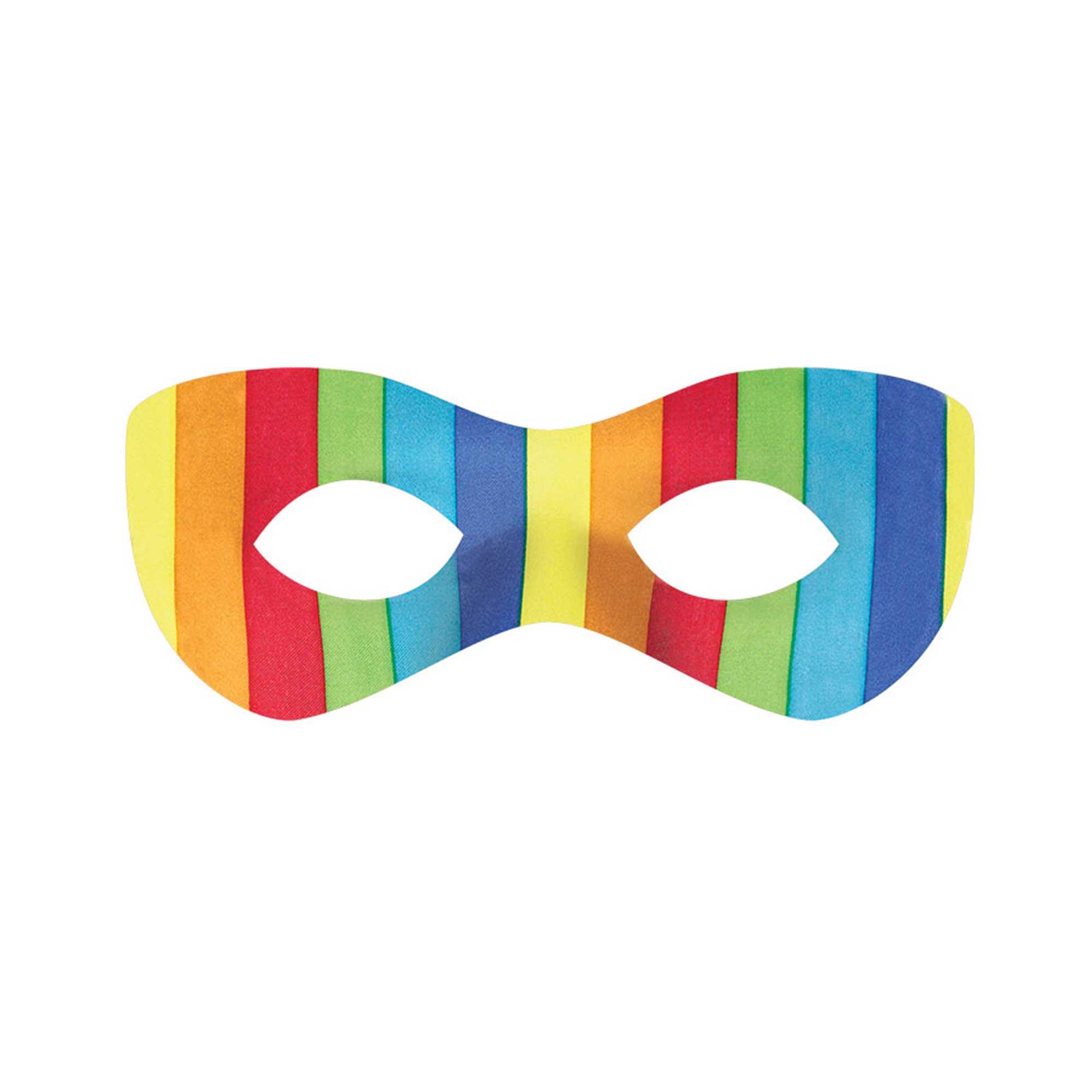 Super Hero Mask - Rainbow
