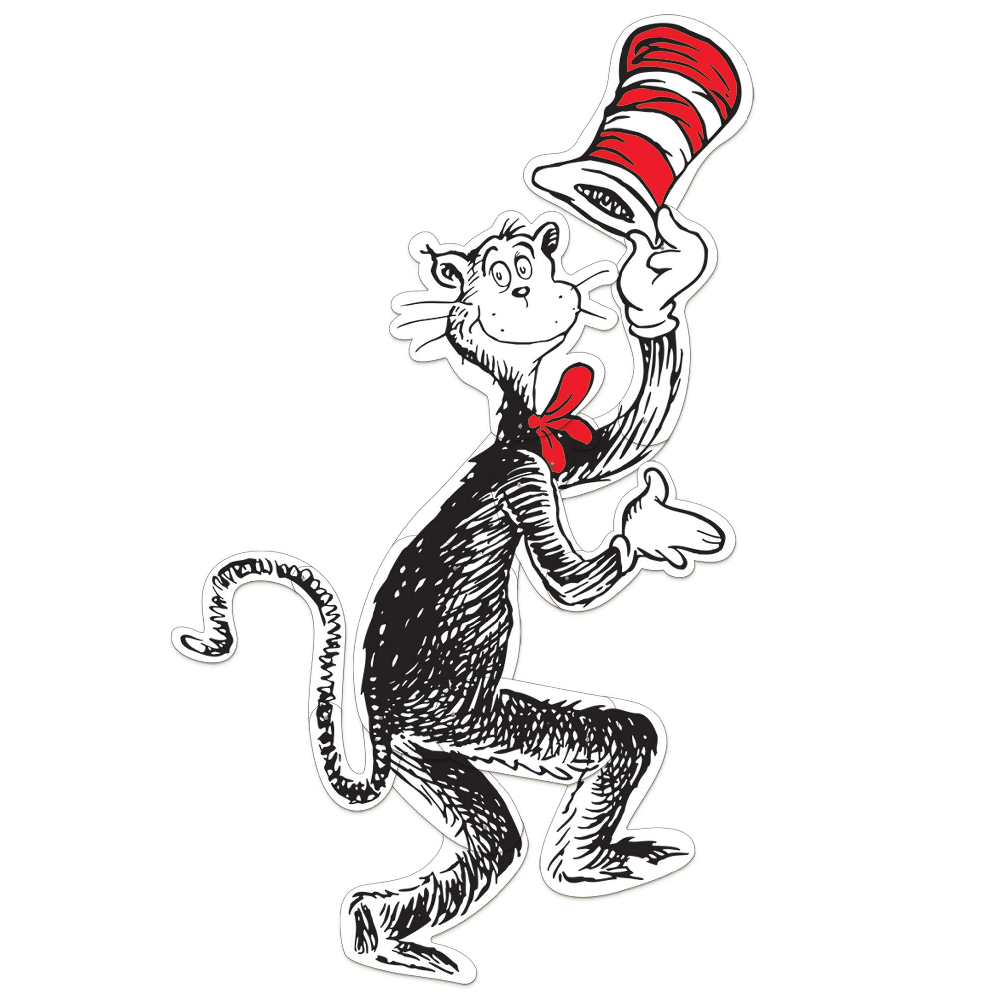Dr. Seuss Cat in the Hat Jointed Cutout