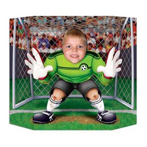 Soccer Goal Keeper Photo Prop
