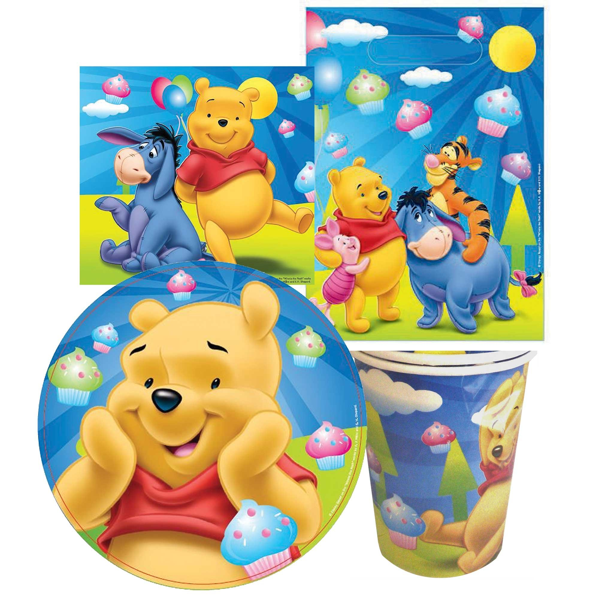 Winnie the Pooh Party Pack 40pc