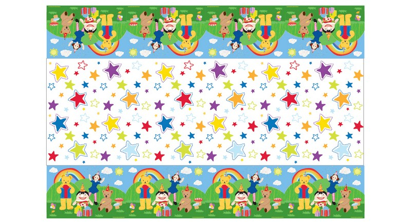 Play School Plastic Tablecover