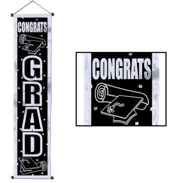 Congrats Grad  Door Panel Velvet