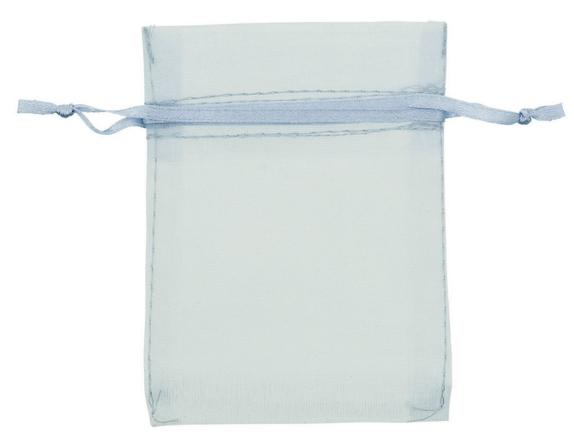 Organza Bags 24 Pack - Silver