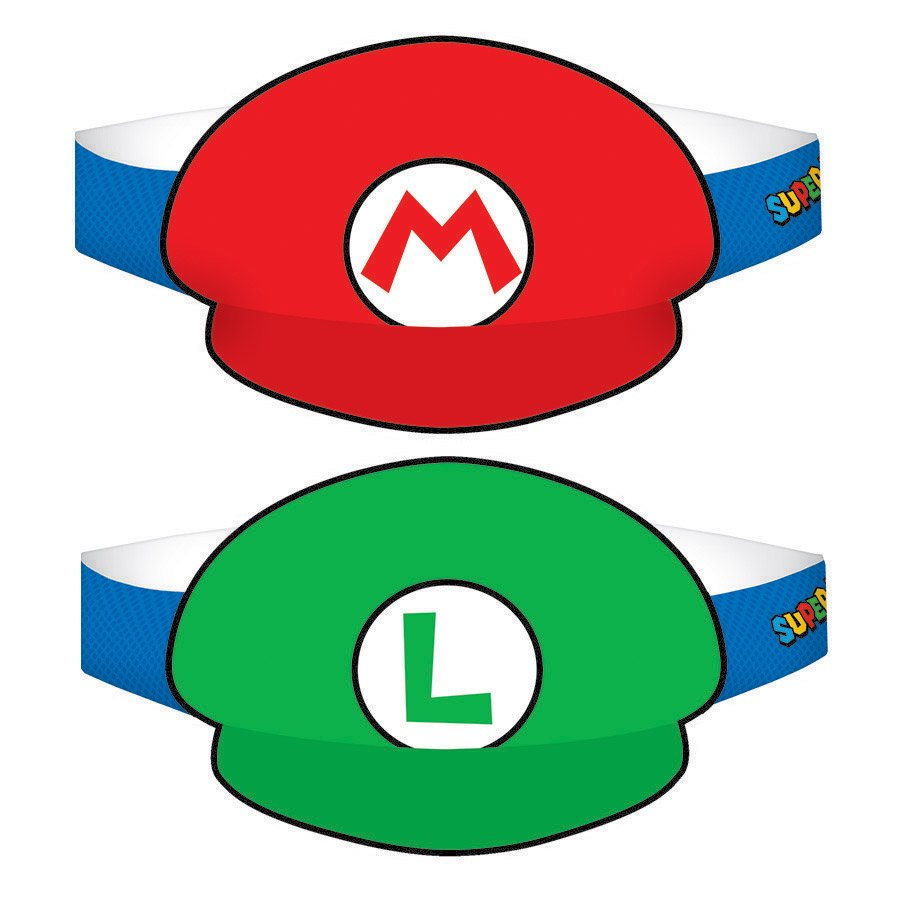 Super Mario Brothers Paper Hat