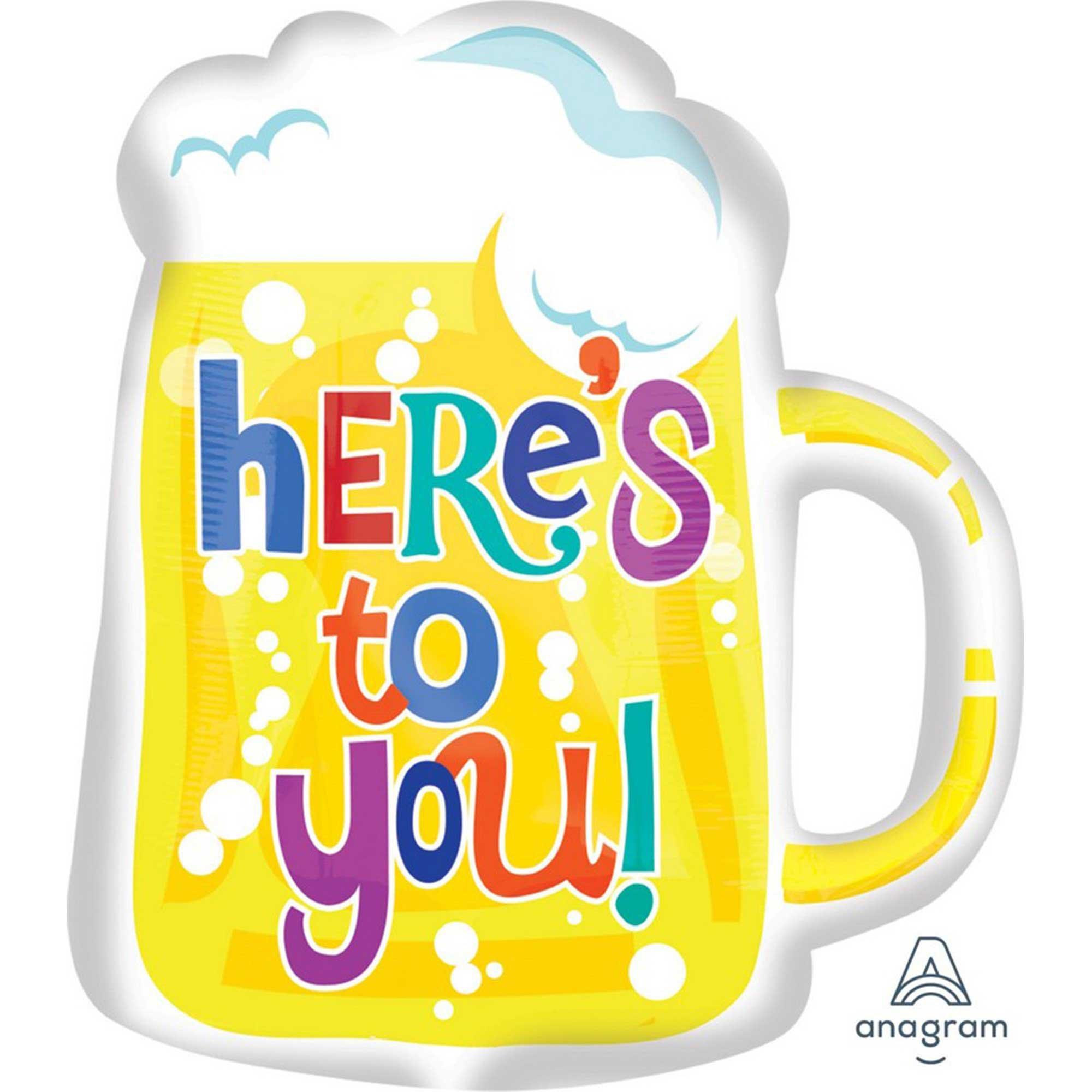 SuperShape Here`s To You Beer Mug P35