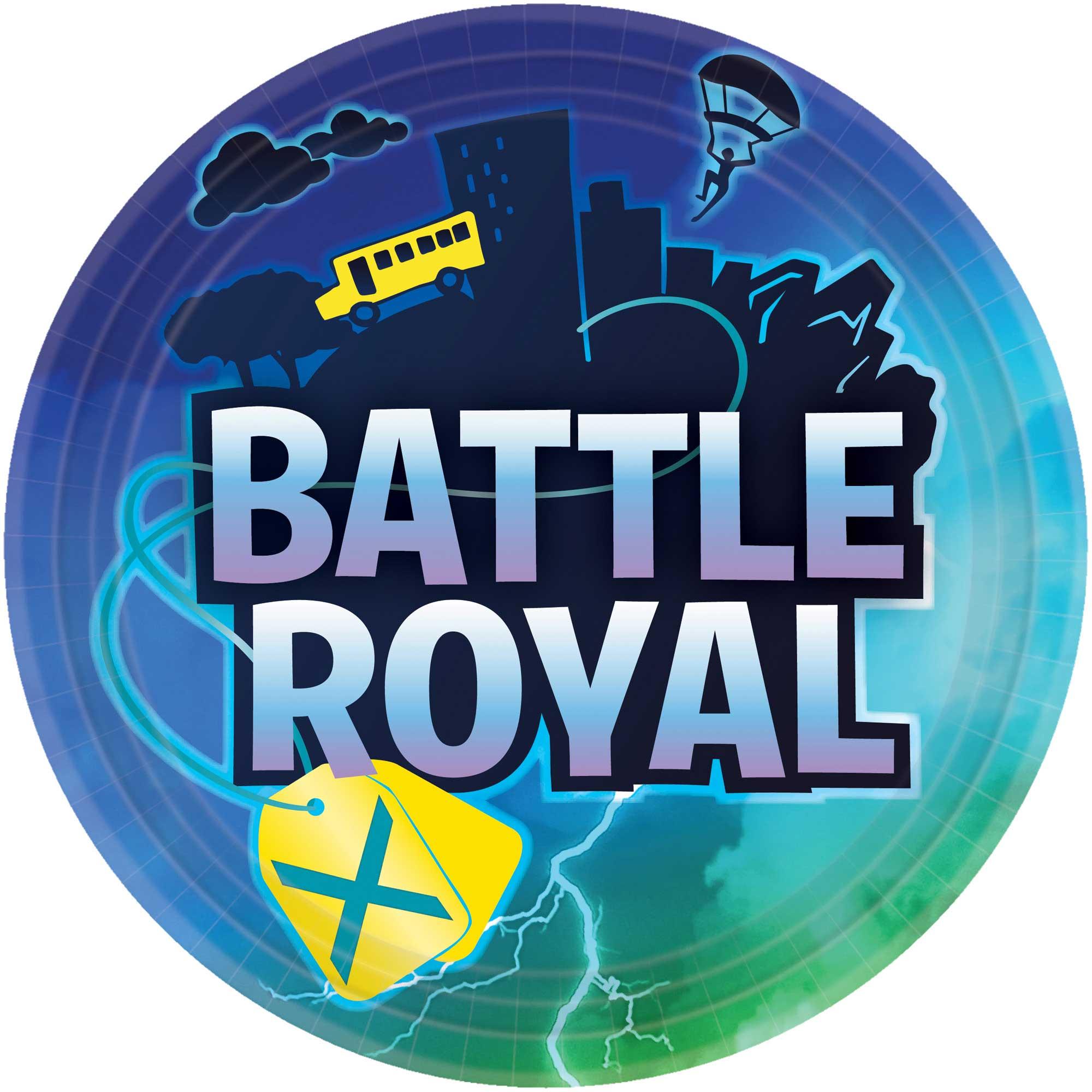 """Battle Royal 9""""/ 23cm Paper Dinner Plates"