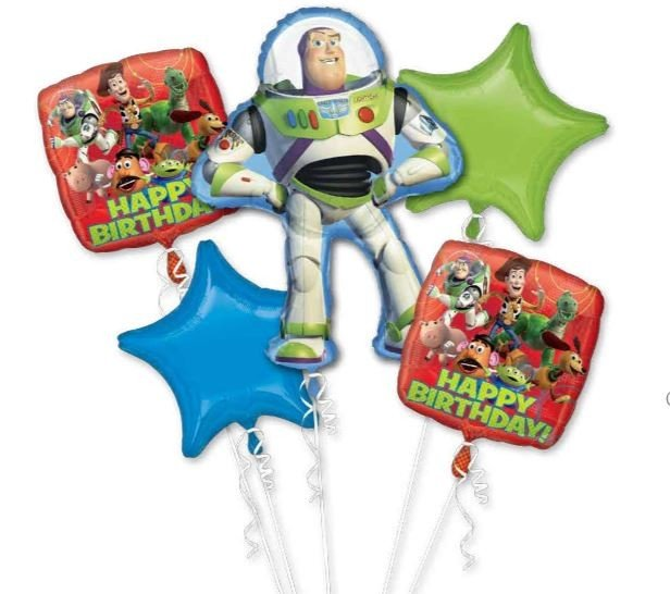 Bouquet Toy Story Gang Happy Birthday P75