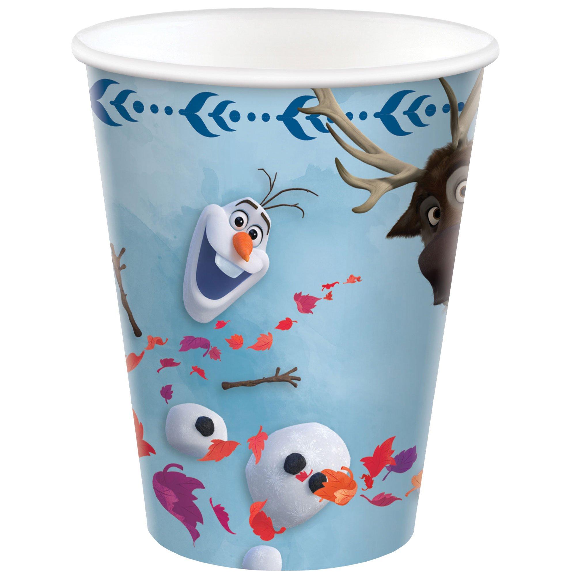 Frozen 2 9oz / 266ml Paper Cups