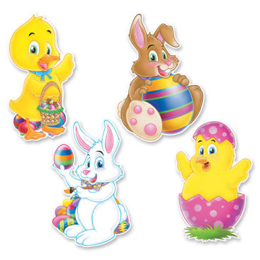 Cutouts Easter Assorted Designs