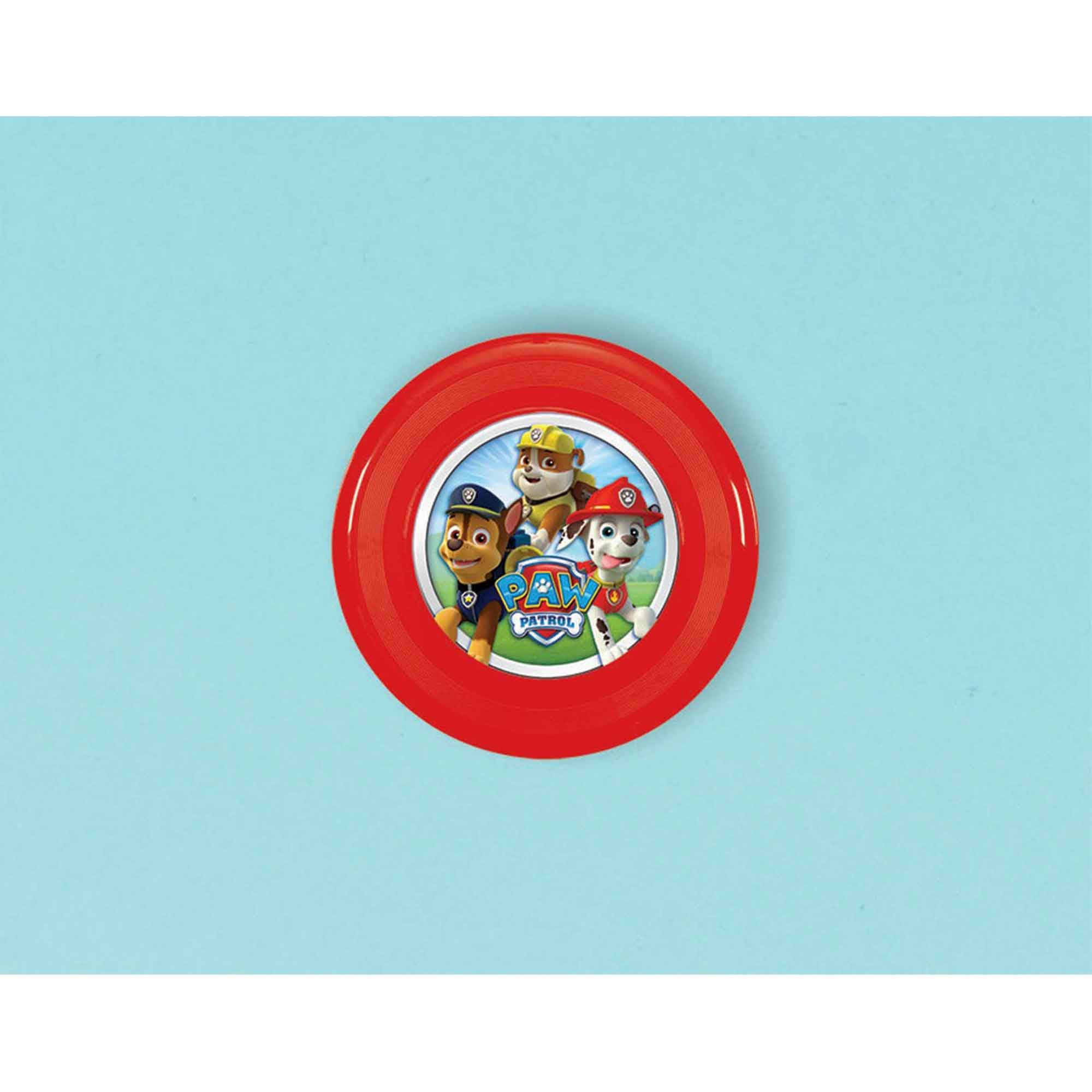Paw Patrol Flying Discs Favor