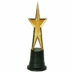 Awards Night Star Statuette Trophy Decoration