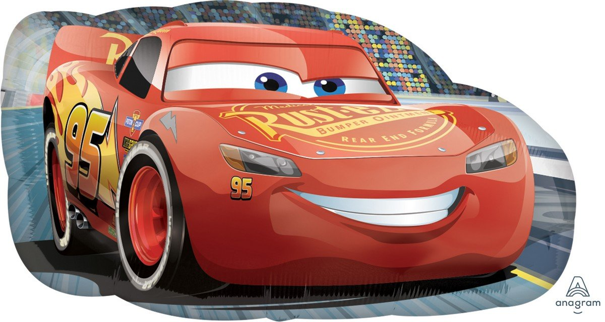 SuperShape XL Cars 3 Lightning McQueen P38