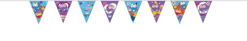 Giggle and Hoot Pennant Banner