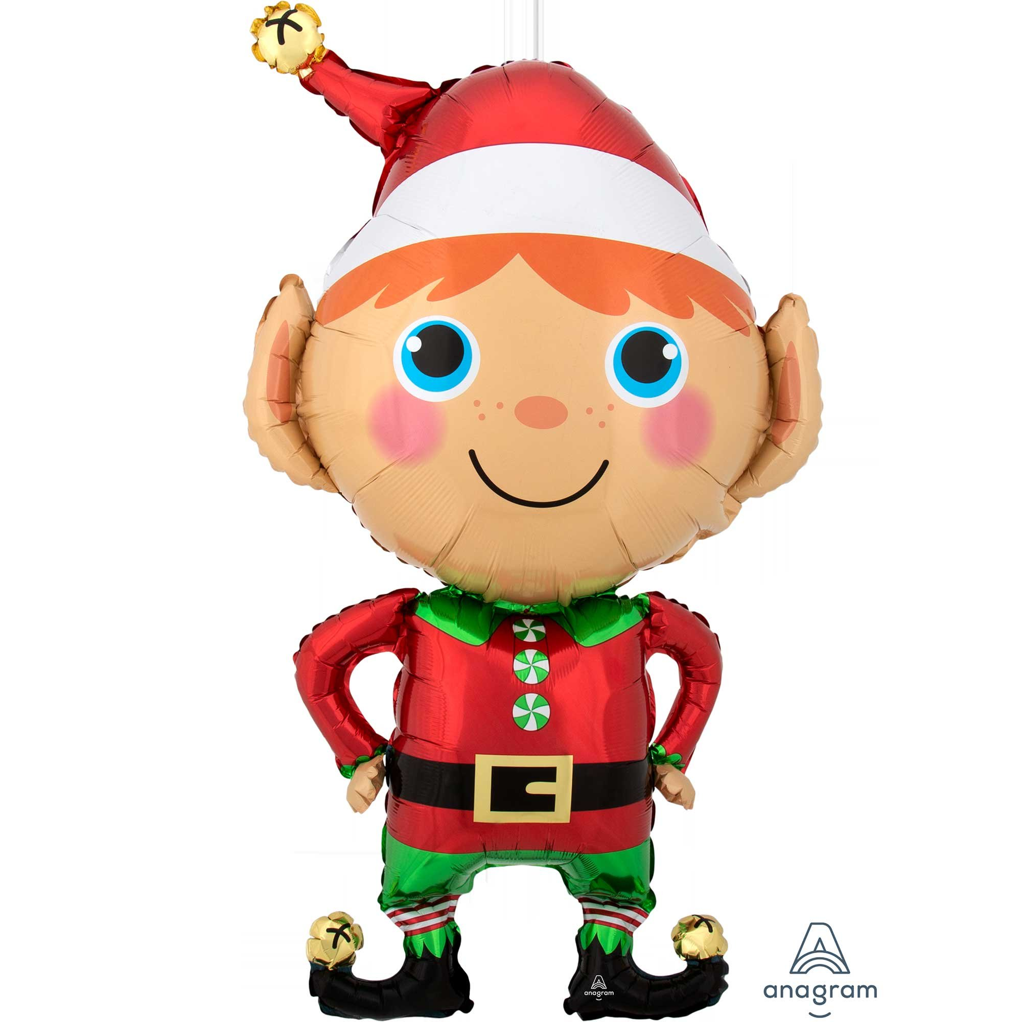 SuperShape XL Happy Christmas Elf P35
