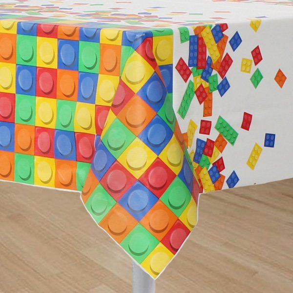 Block Party Tablecover Plastic
