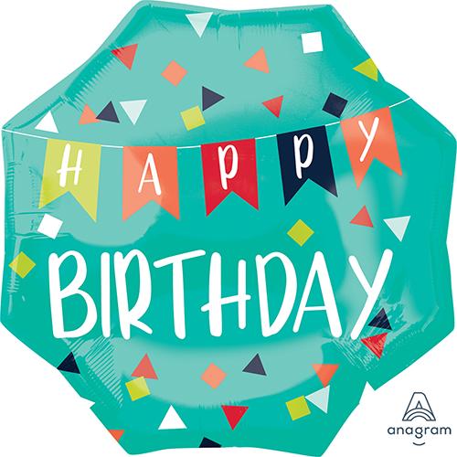 SuperShape XL Reason to Celebrate Happy Birthday P32
