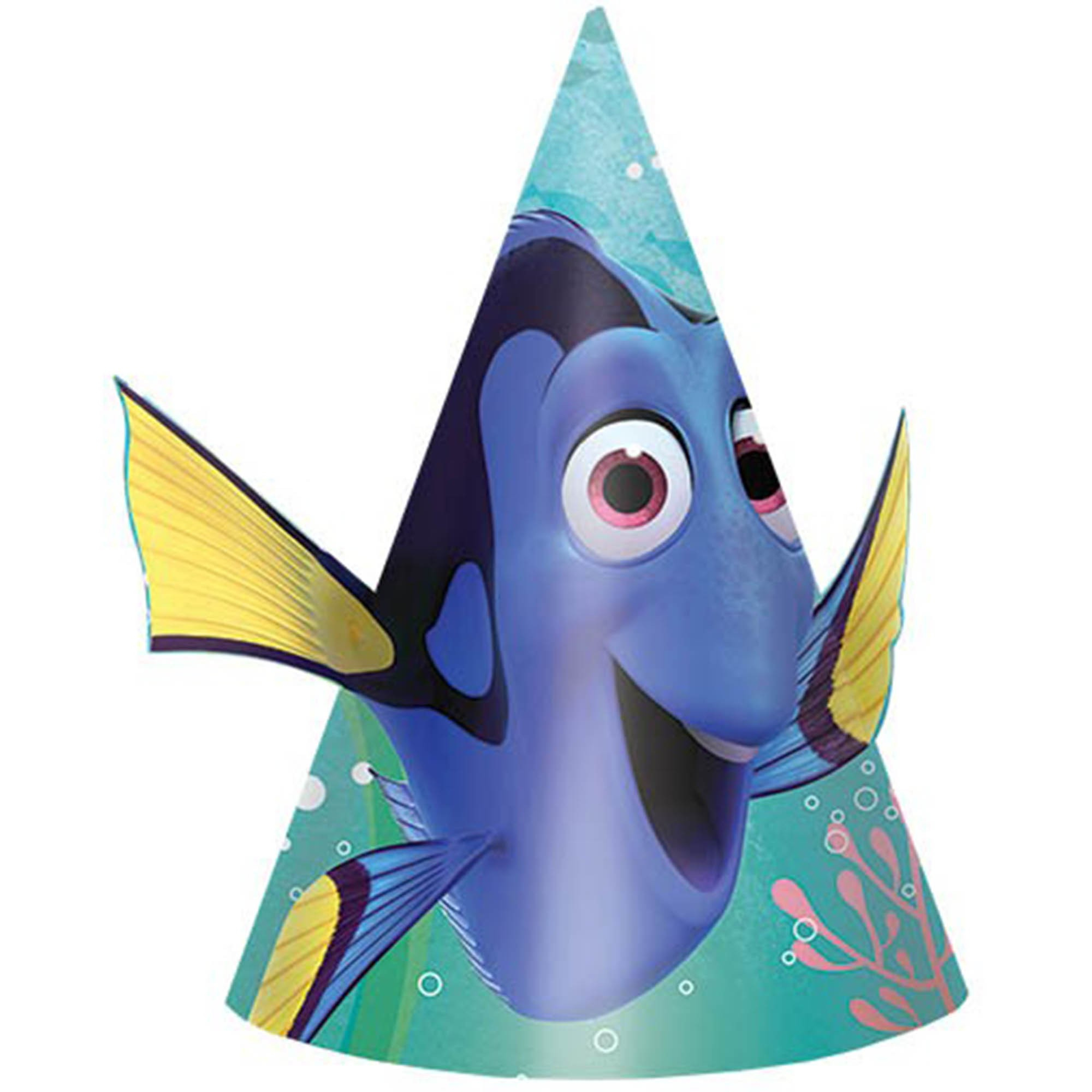 Finding Dory Paper Cone Hat