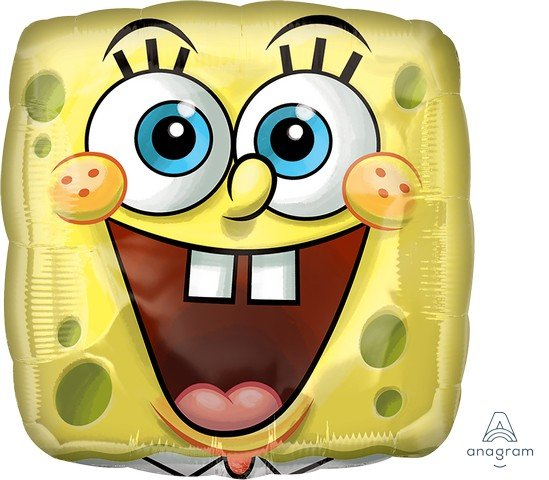 45cm Standard XL SpongeBob Square Face S60