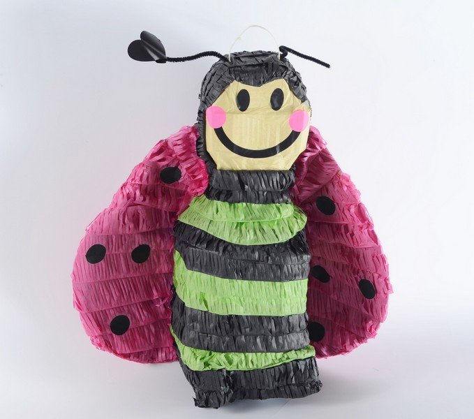 Bee 3D Shape Pinata