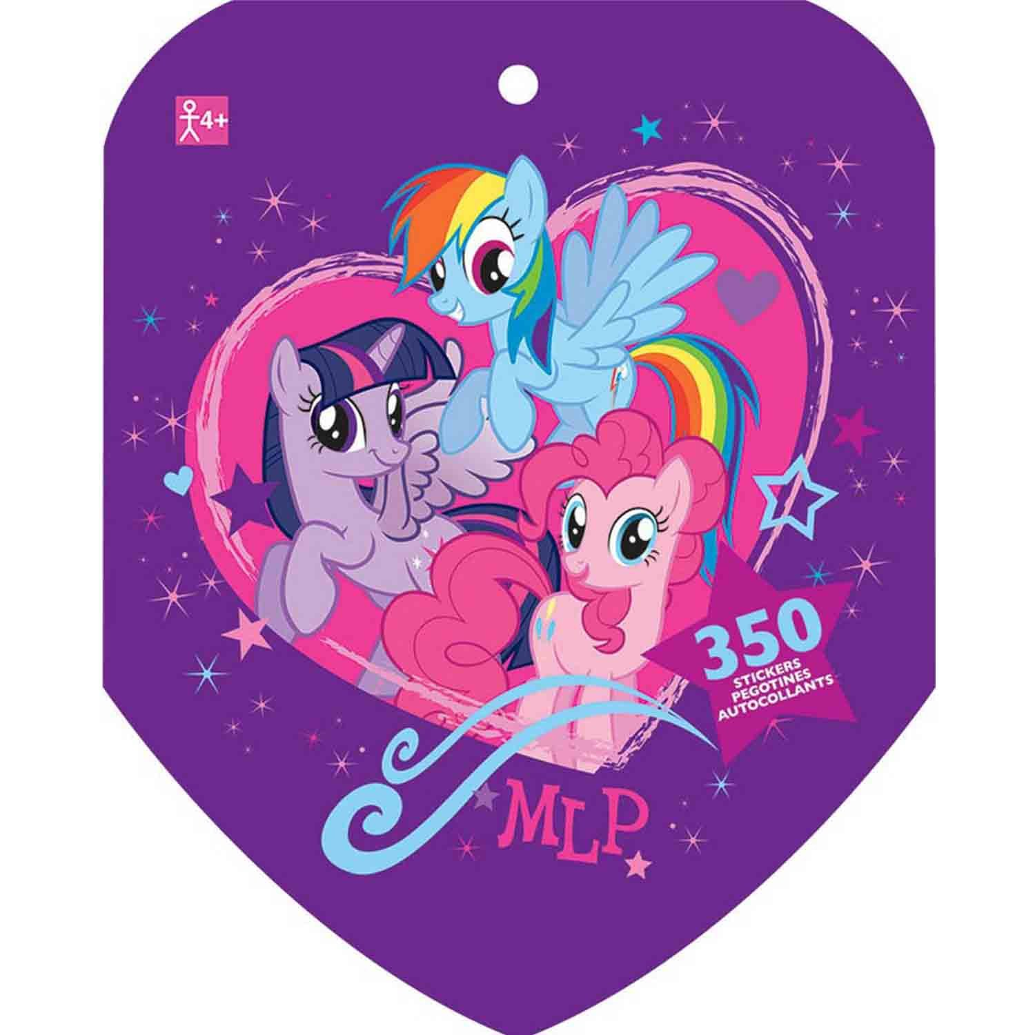 Sticker Book My Little Pony