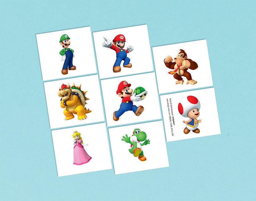 Super Mario Brothers Tattoos