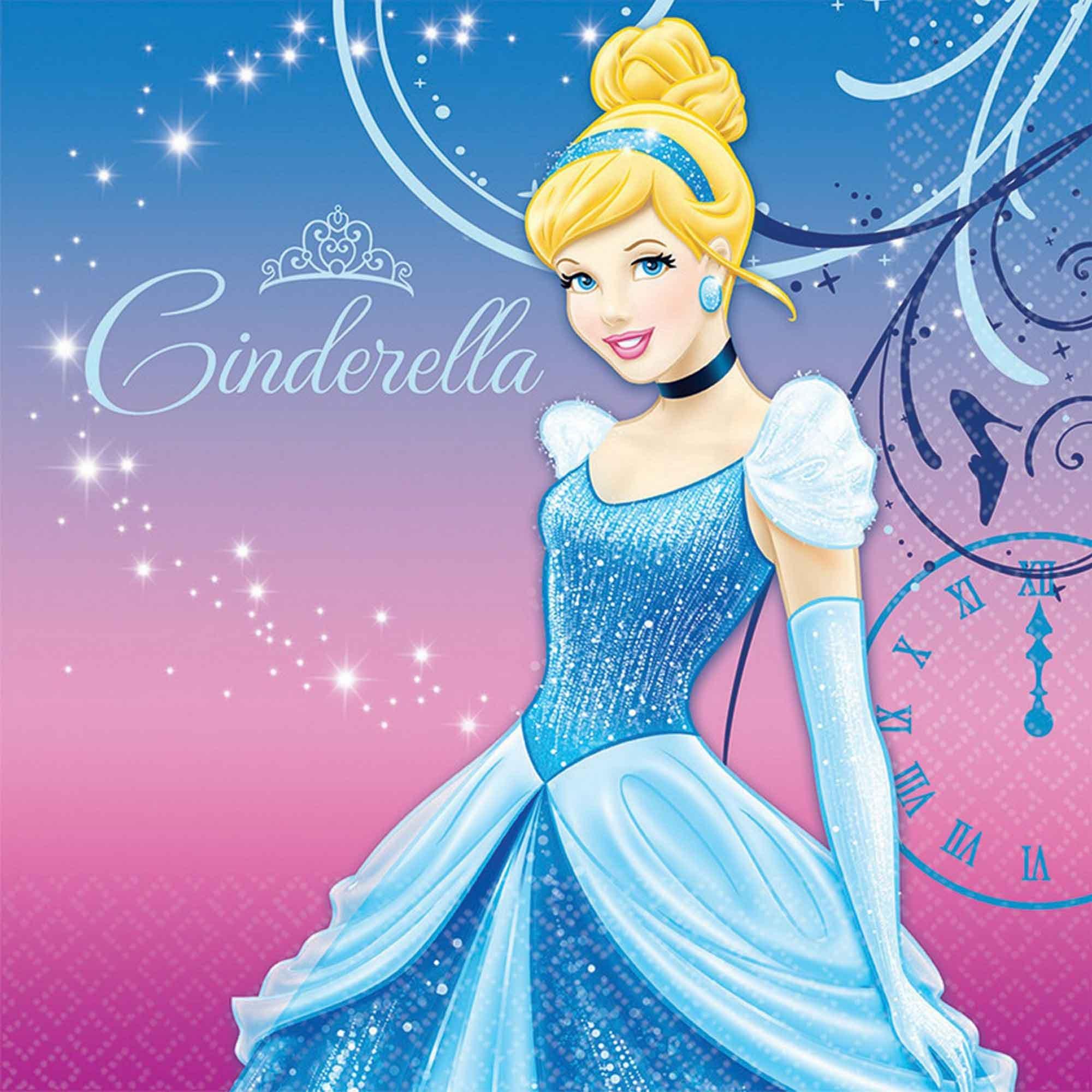 Cinderella Lunch Napkins