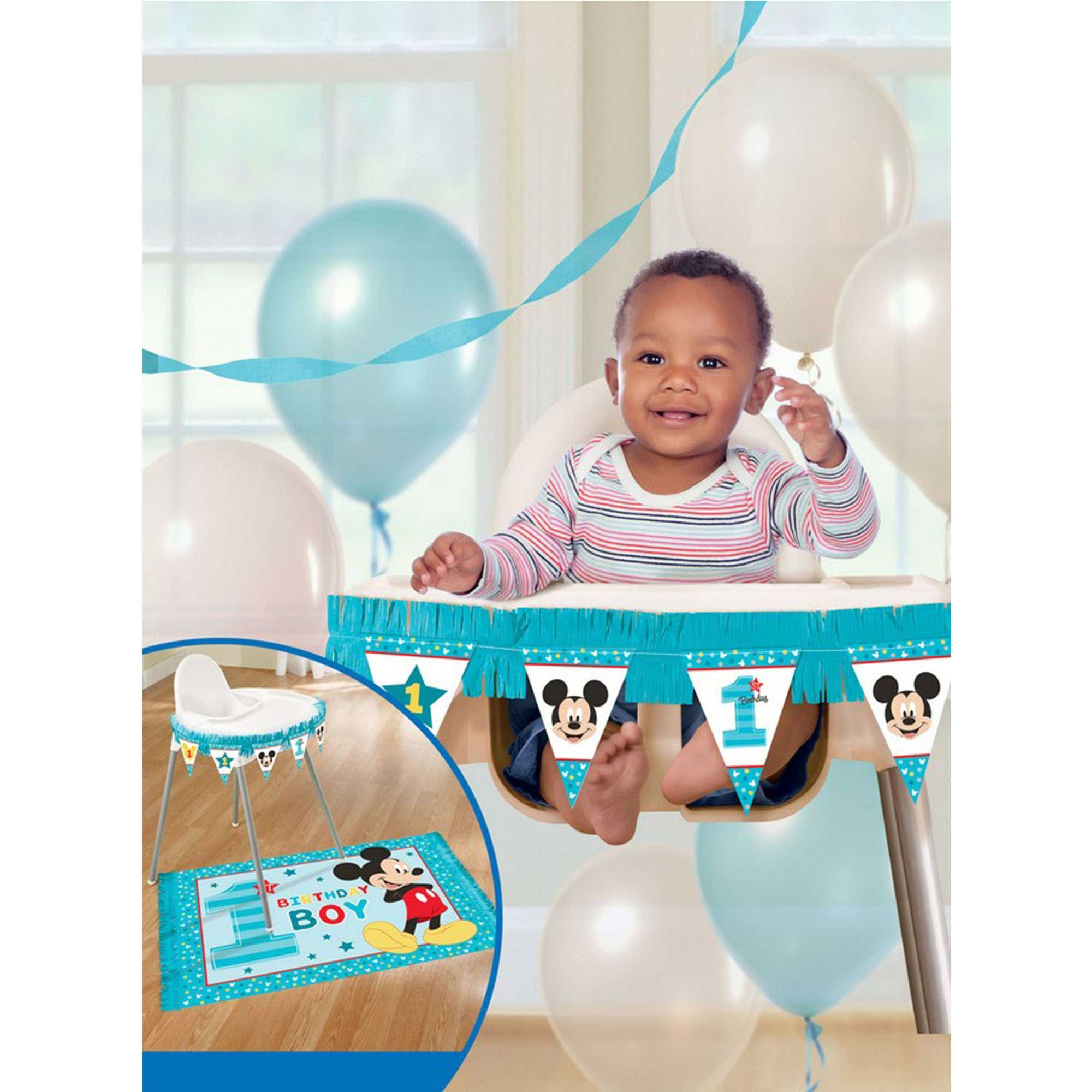 Mickey Fun To Be One High Chair Decorations Kit