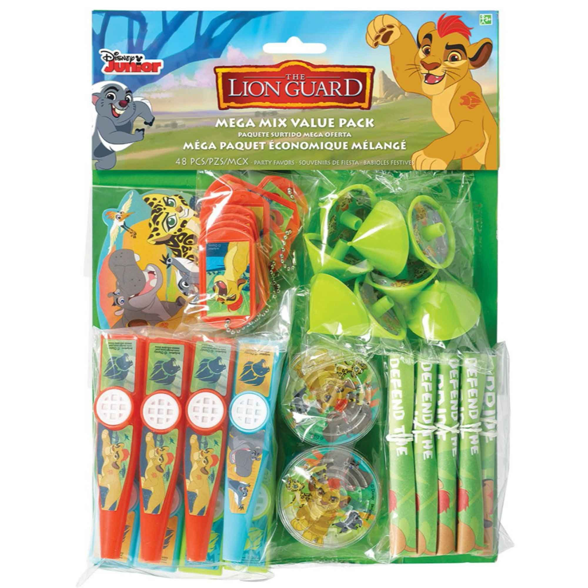 The Lion Guard Mega Mix Value Pack Favors