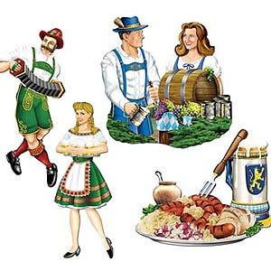 Cutouts Oktoberfest Party