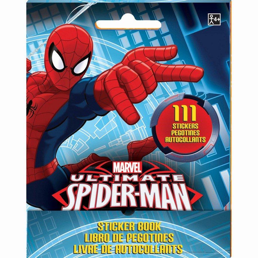 Sticker Booklet Spider-Man