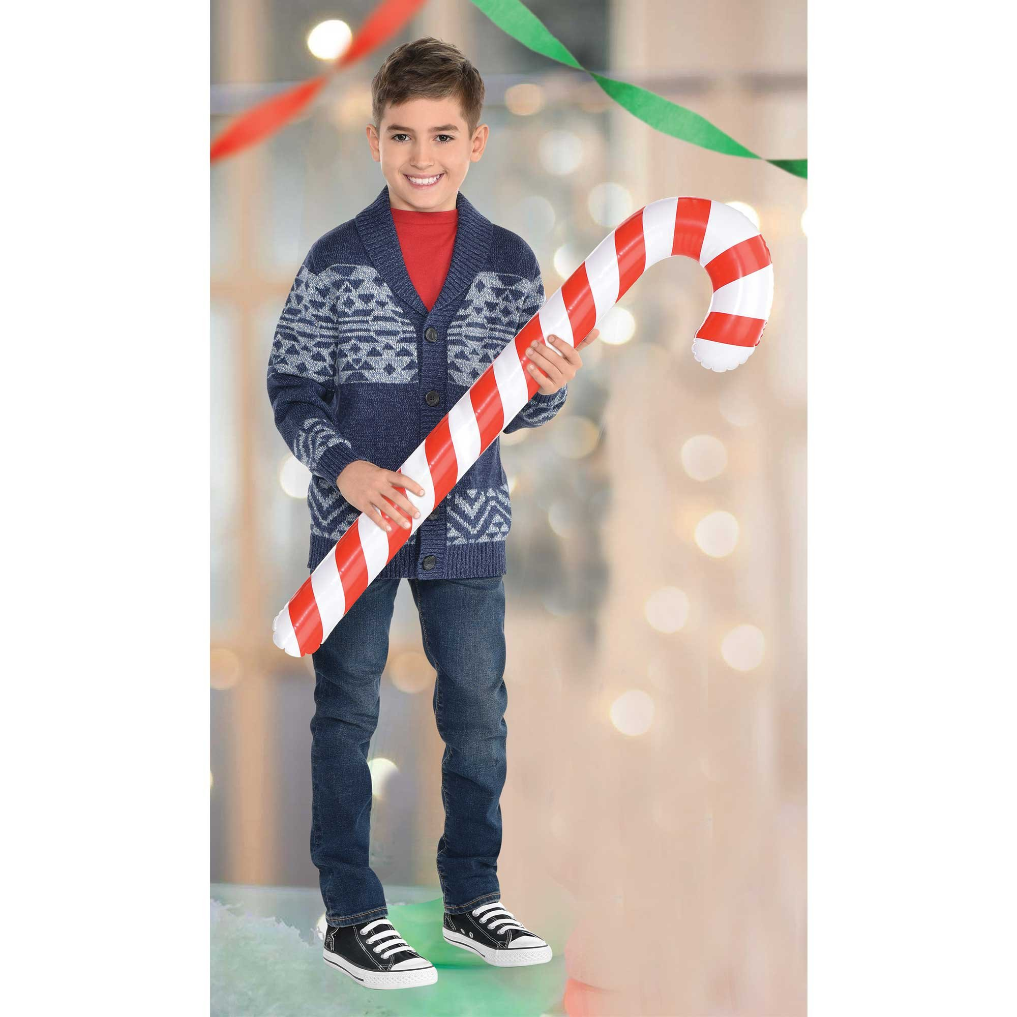 Christmas Candy Cane Inflatable Photo Prop or Decoration