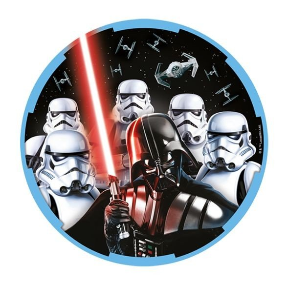 Star Wars Classic 23cm Round Plates