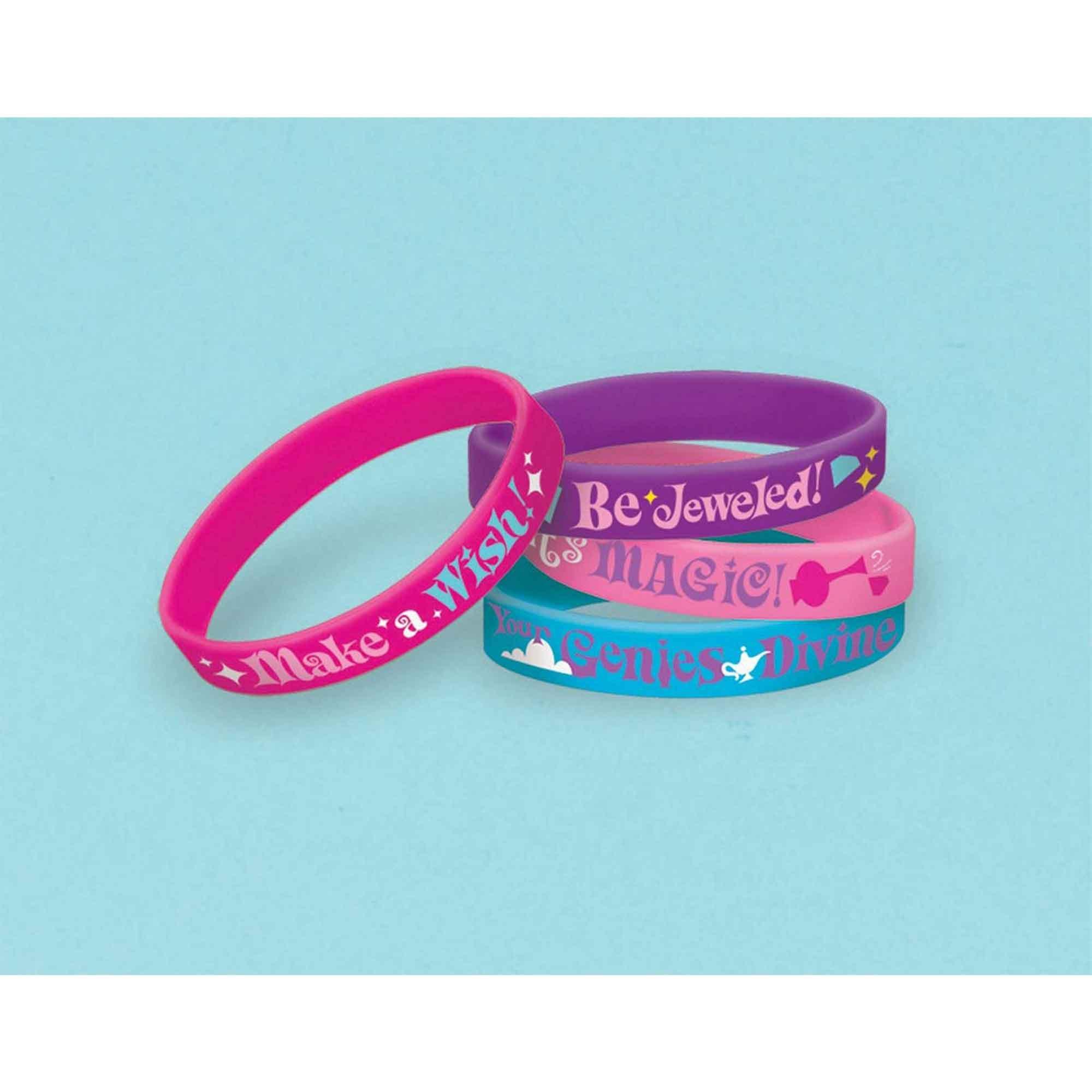 Shimmer and Shine Rubber Bracelets