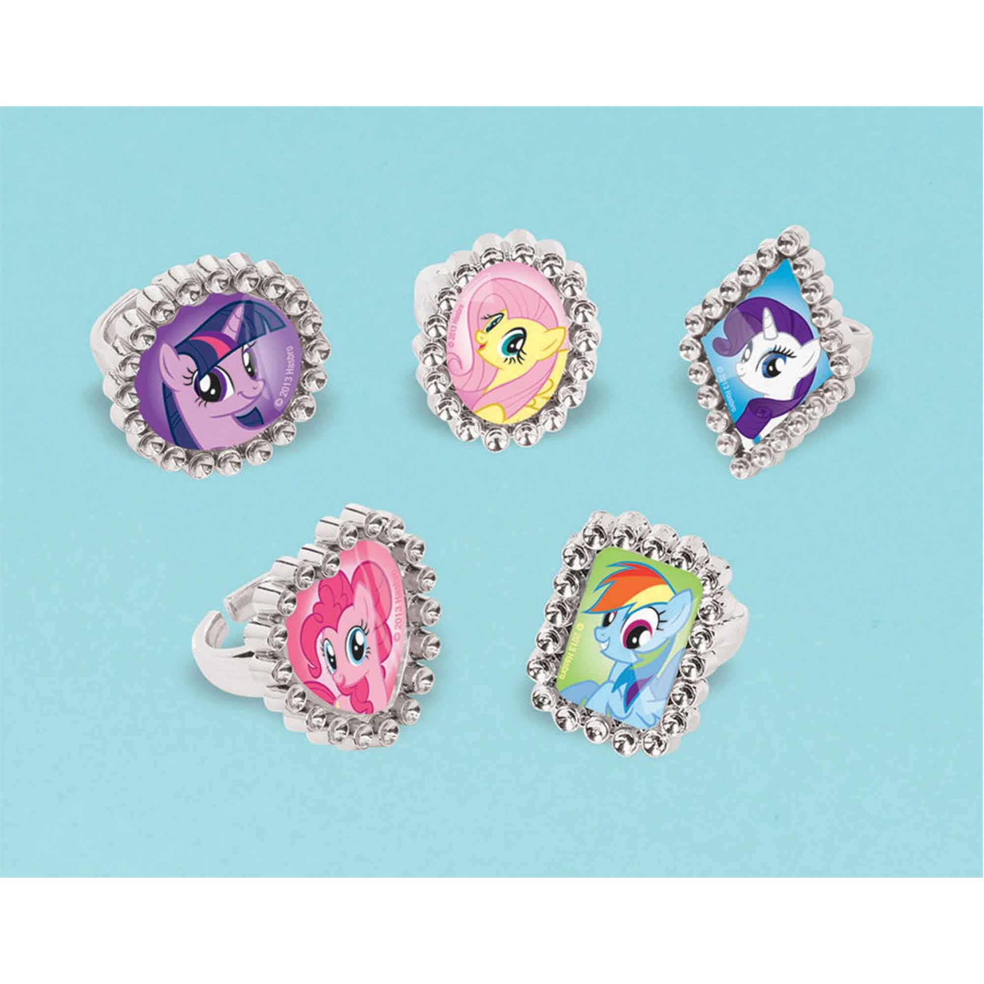 My Little Pony Friendship Jewel Ring Favor