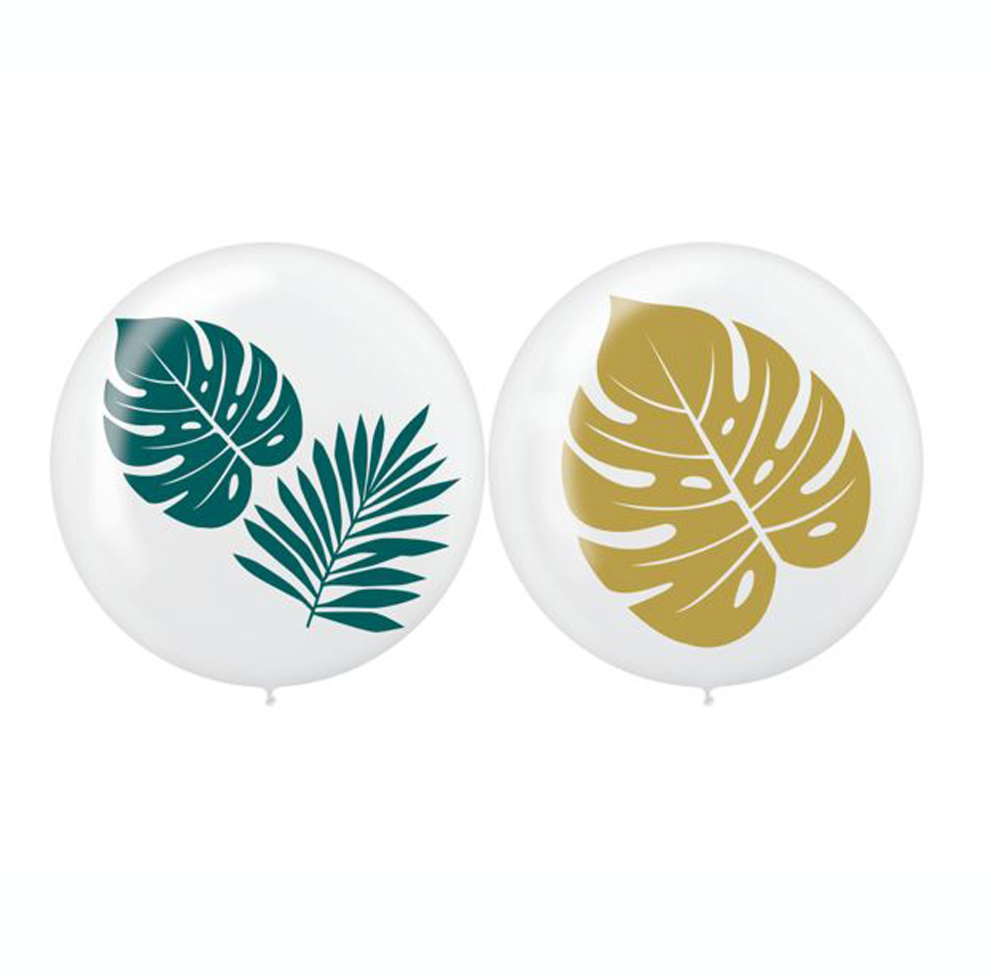 Key West 60cm Palm Leaves Latex Balloons