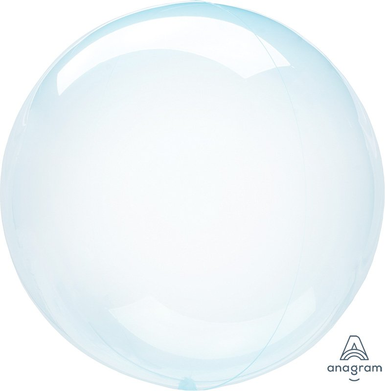 Crystal Clearz Petite Blue Round Balloon S15