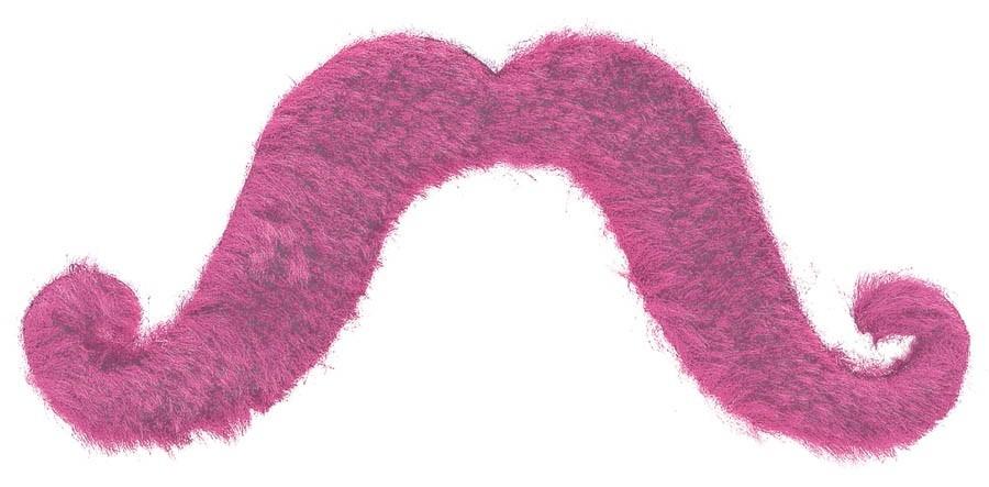 Moustache - Pink