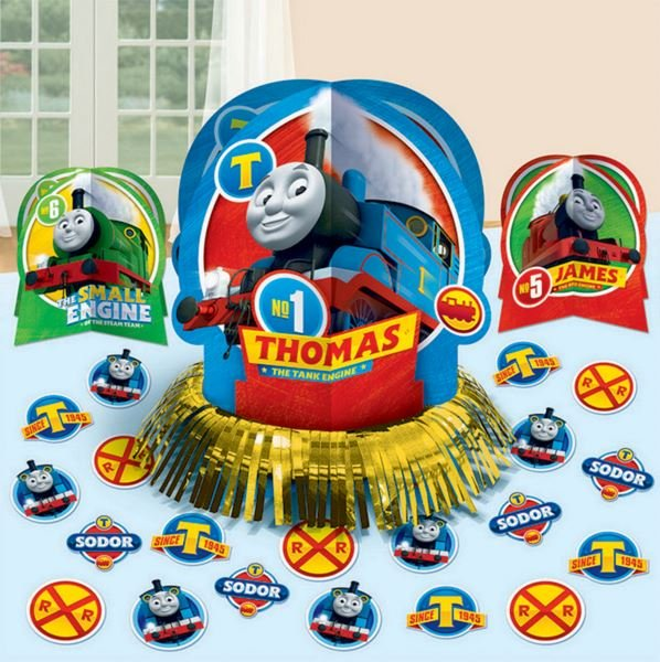 Thomas All Aboard Table Decorations Kit