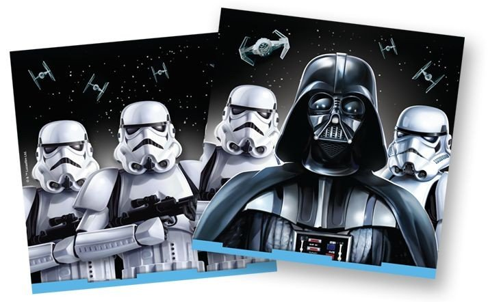 Star Wars Classic Lunch Napkins