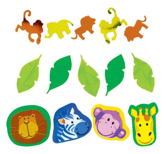Jungle Animals Confetti 1.2oz/34g