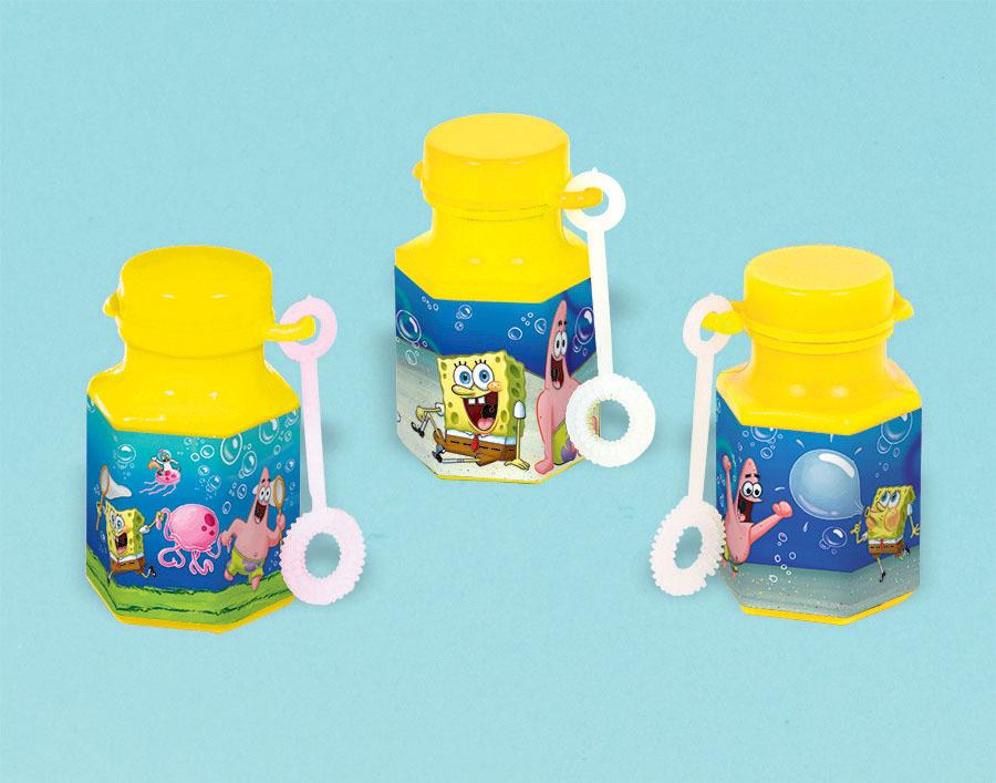 Spongebob Mini Bubble Favors