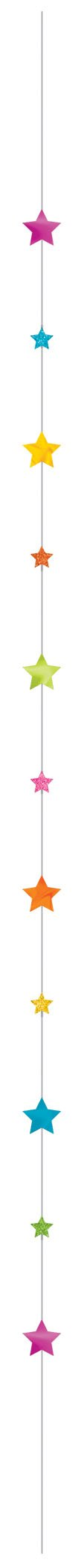 Balloon Fun Strings Stars Brights