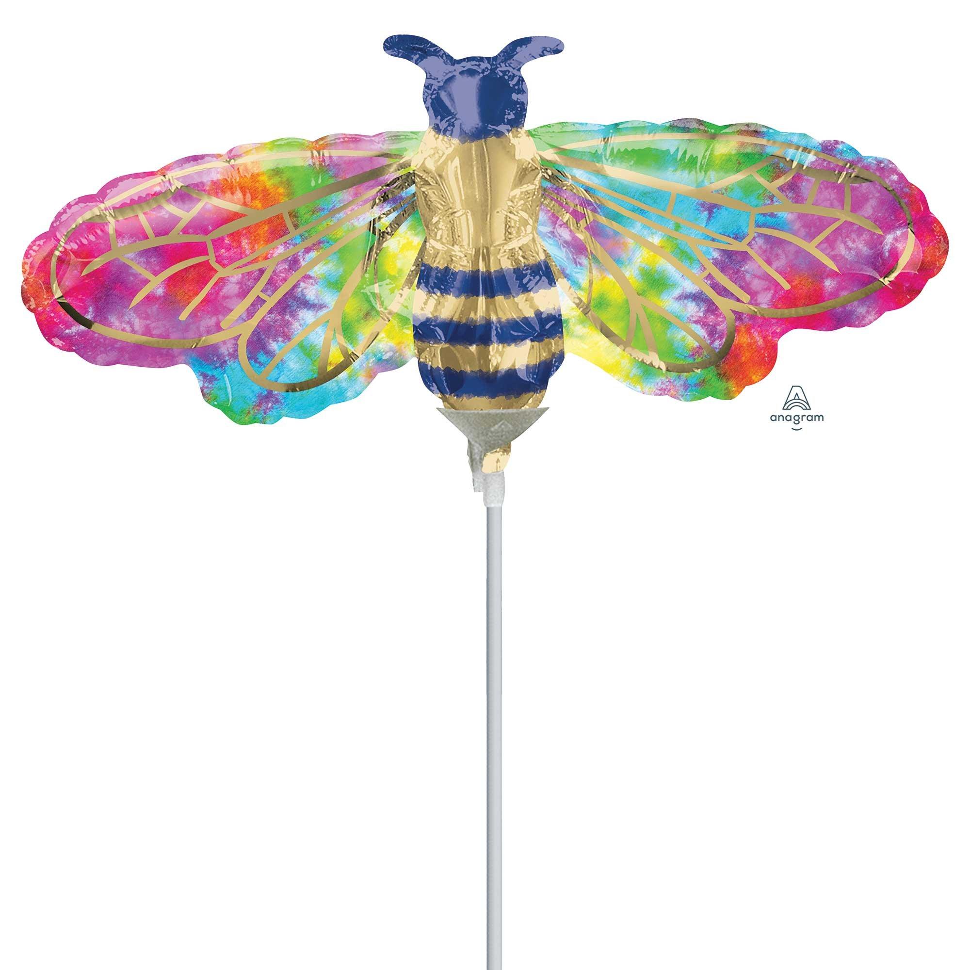 Mini Shape Tie-Dye Bee A30