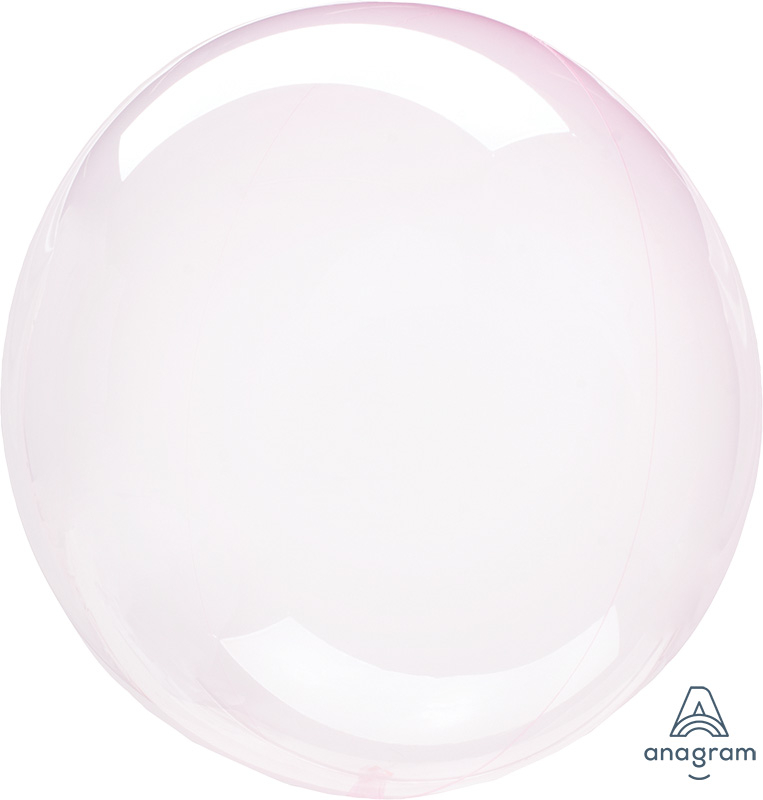 Crystal Clearz Petite Light Pink Round Balloon S15