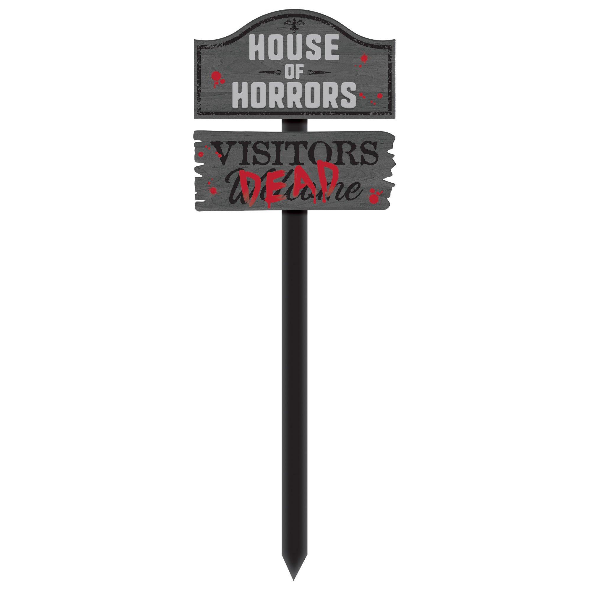 House of Horrors MDF Yard Stake