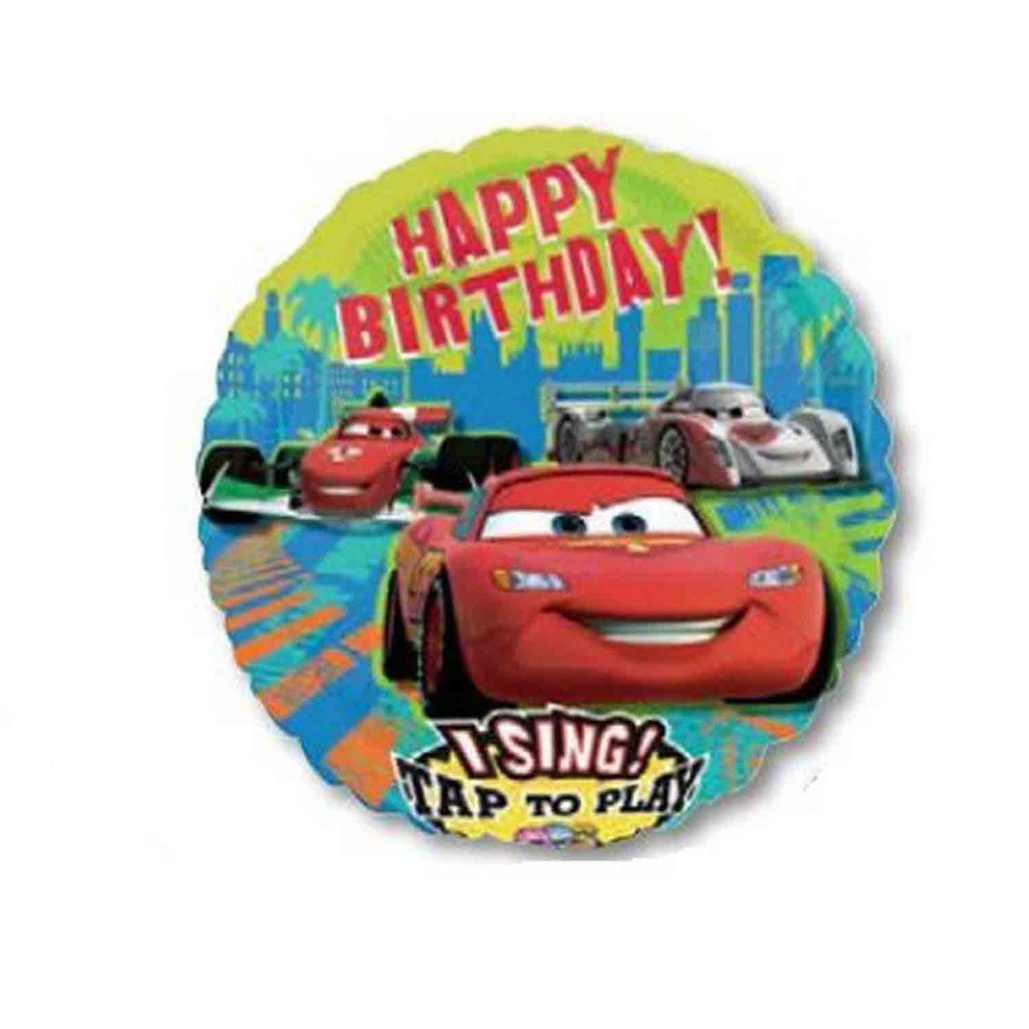 Sing-A-Tune Cars Group Birthday P75