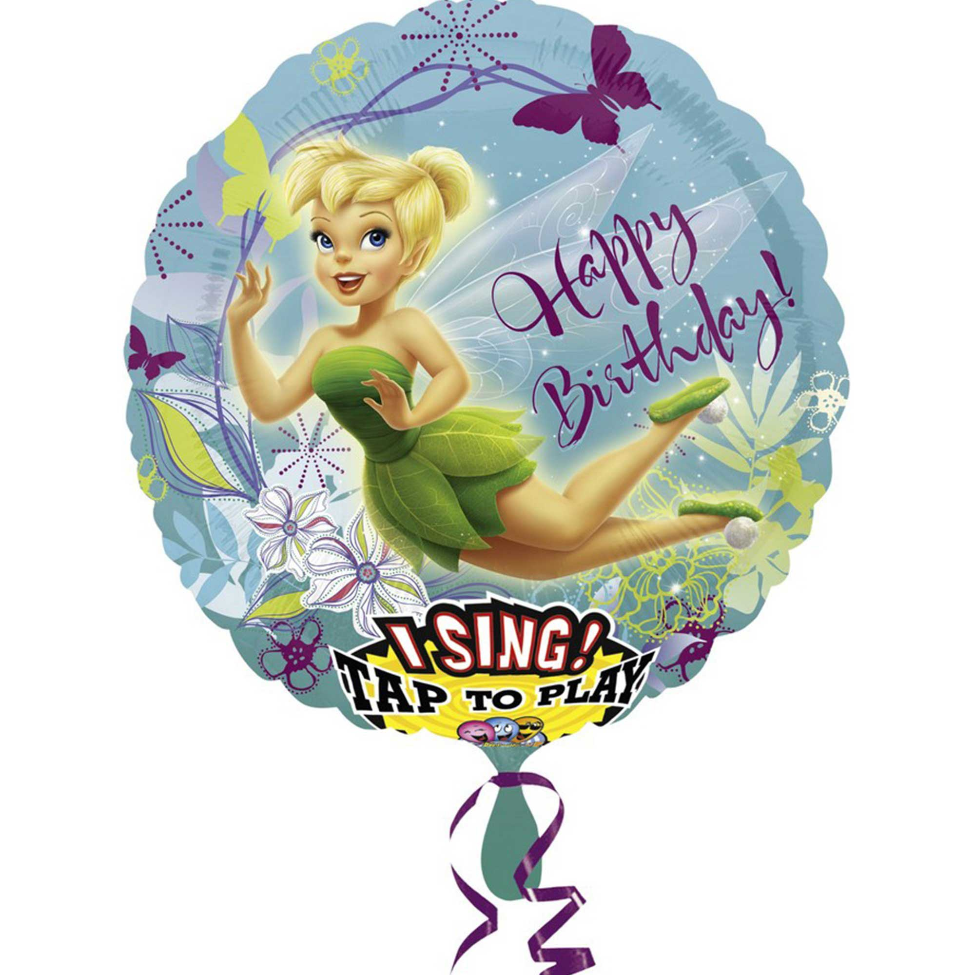 Sing-A-Tune Tinker Bell Birthday P75